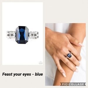 Feat Your Eyes Blue Ring